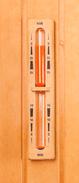 Sauna Sanduhr für die richtige Sauna Zeit.